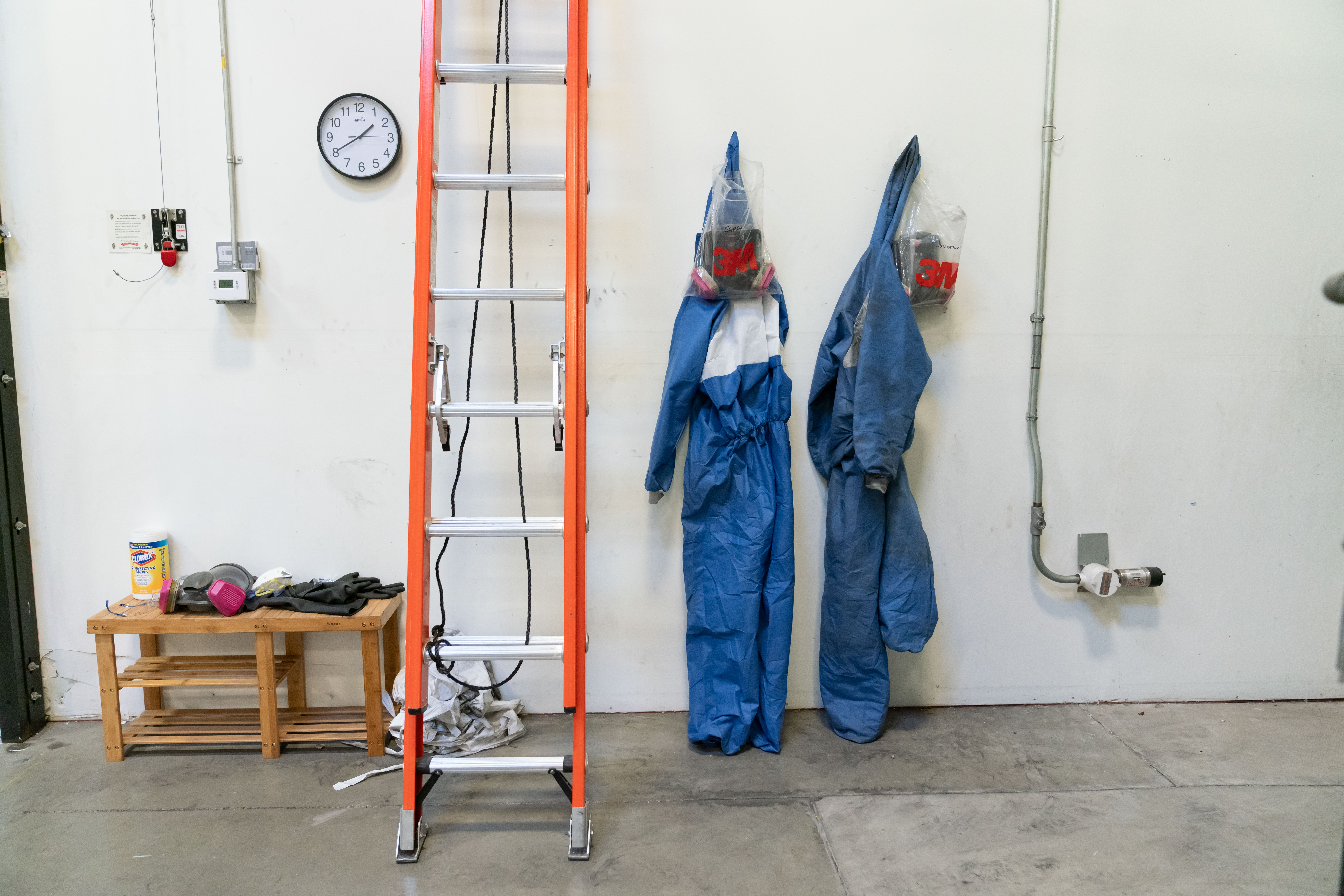 Acid and Powder Coating Suits